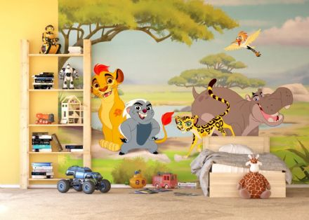 Lion Guard Premium wall mural wallpaper